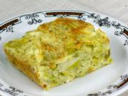 Póréhagymás sajtos kalács