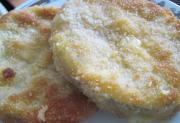 Rántott cukkini felvágottal és sajttal