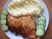 Csirkemell cukkinis tésztában