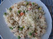 Zöldséges csirkés rizottó recept