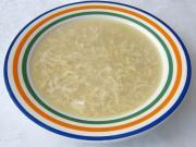 Rántott tojás leves