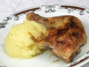 Sült csirke burgonyapürével