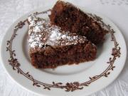 Csokoládés lágy sütike