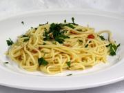 Aglio e Olio spagetti