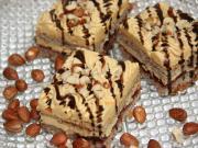 Karamellás-mogyorós süti