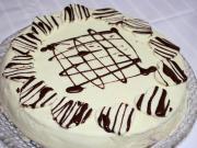 Valentin napi vaníliás epres torta