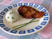 Csirke szeletek joghurtos szószban