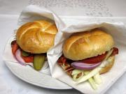 Gyors hamburger bajor vagdaltból zsemlében