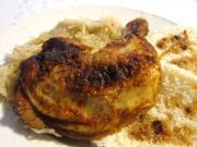 Mézes - gyömbéres csirke combok