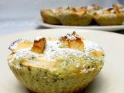 Almás muffin mézzel és sztéviával