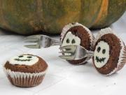 Halloween muffinok