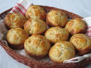 Tepertős muffin pogácsa