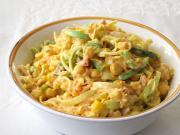 Mangós-zöldséges krémes saláta