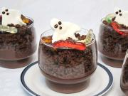 Halloween puding pohár