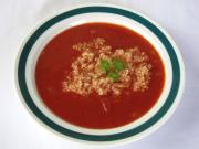 Paradicsomleves quinoával