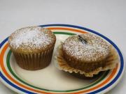 Mézes muffin szilvával