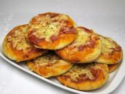 Sonkás mini pizza