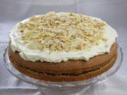 Almás-diós torta