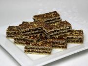Karamellás-csokoládés ostya mogyoróval