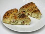 Sajtos sós sütemény olíva bogyóval