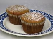 Kefires muffin szilvalekvárral