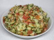 Ízletes zöldségsaláta