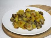 Pirított gomba krumplival