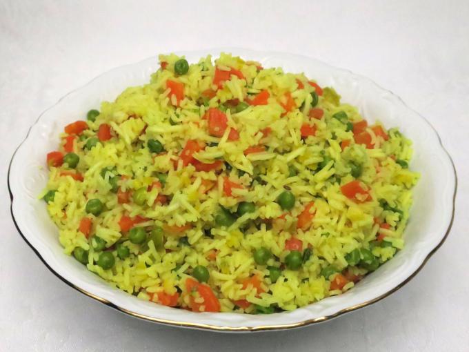 Zöldséges basmati rizs