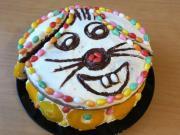 Vidám húsvéti Nyuszi torta