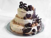 Három emeletes gesztenye torta
